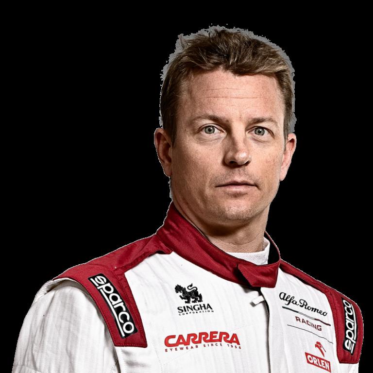 Portrét pilota Kimi Räikkönen