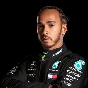 Lewis Hamilton portrét