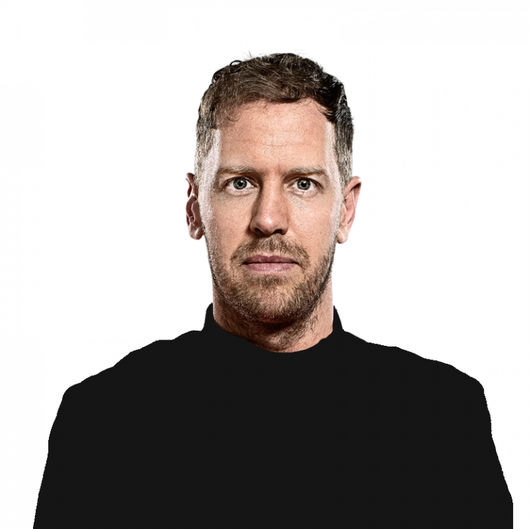 Portrét pilota Sebastian Vettel