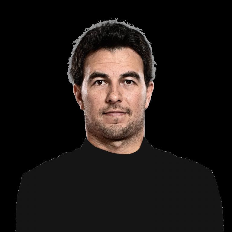 Portrét pilota Sergio Pérez