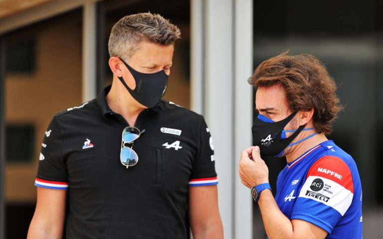 Fernando Alonso a Marcin Budkowski