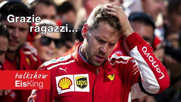 Sebastian Vettel na odchode z Ferrari