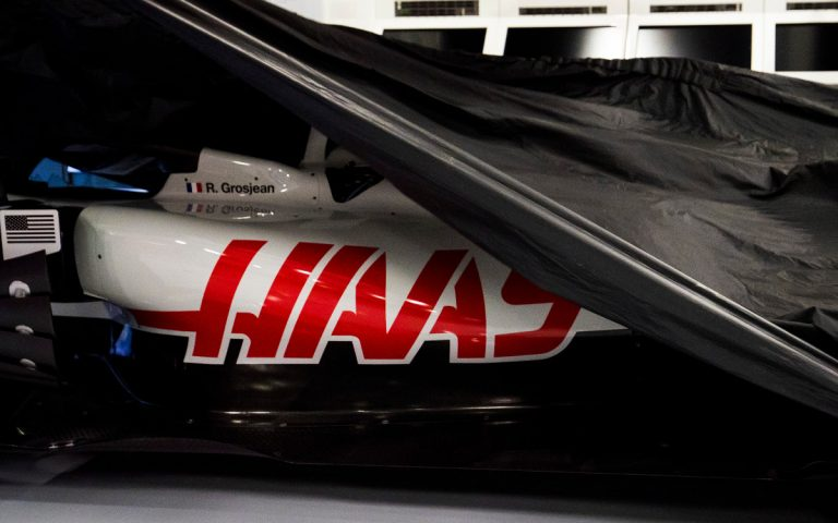 Logo tímu Haas