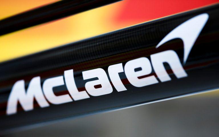 Logo tímu McLaren