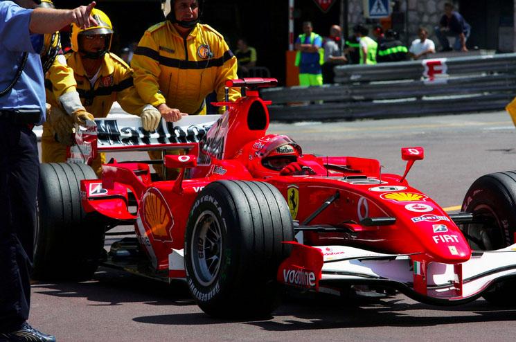 Michael Schumacher, Rascasse, 2006