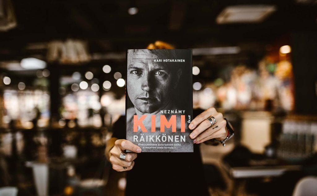 kniha Neznámy Kimi Räikkönen