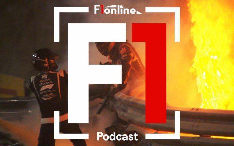 F1online podcast – havária Romaina Grosjeana