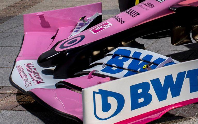 Logo tímu Racing Point