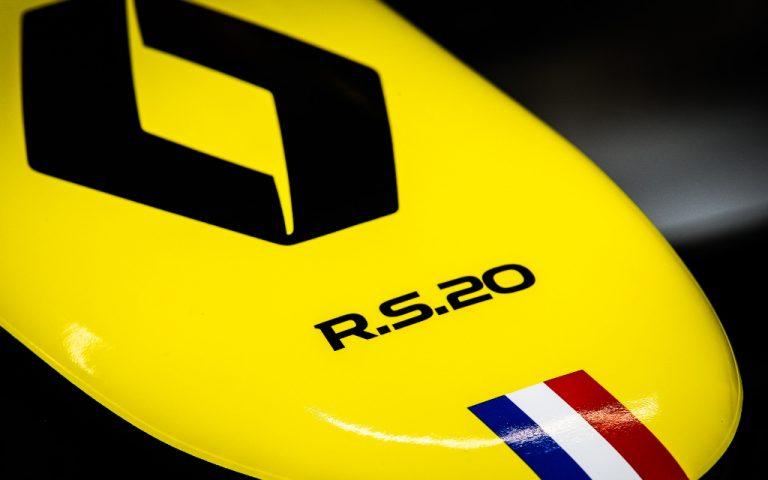 Logo tímu Renault