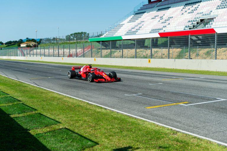 Sebastian Vettel v Mugelle