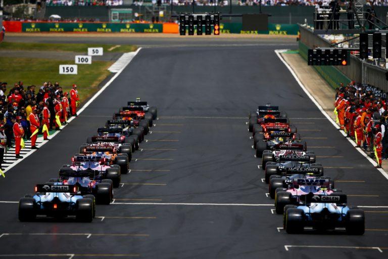štart VC Veľkej Británie 2019 – Silverstone